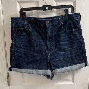 American Eagle Curvy Super High Waisted Shorts